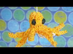 ▶ Pieuvre en élastiques Rainbow Loom - Tuto français de niveau avancé - YouTube