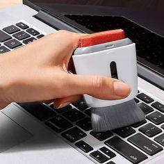 Computer Cleaner, Computer Keyboard, Laptop Screen Repair, Laptop Storage, Laptops For Sale, Laptop Stand, Laptop Bag, Clean Microfiber, Grey Bedding