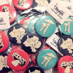 きのこ缶バッチセット - hasya store - BOOTH(同人誌通販・ダウンロード)