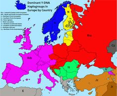 Europe has always been a melting pot of civilisations, cultures and languages. Genetic studies are meant to reveal the formation of each European people.