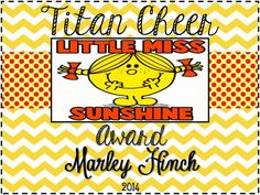 Personalized Cheer Team Spirit Banquet Gift by RebelChickBoutique, $5.00