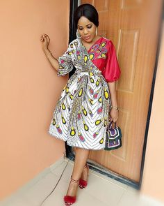 Latest Ankara Short Gown Styles 2019 Source by maboplus African Fashion Ankara, African Inspired Fashion, Latest African Fashion Dresses, African Print Fashion, Africa Fashion, Women's Fashion, Fashion Prints, Fashion Women, Short African Dresses