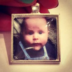Custom Photo Necklace Charm, great gift for Mother's day! Also available as a ring or bookmark! $10.00