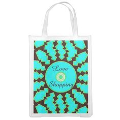 Love Shopping Grocery Bag