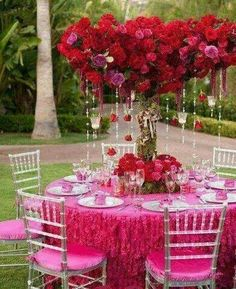 Pin by sandra olejnik on deco pinterest wedding weddings and party table junglespirit Image collections