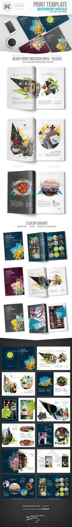 #Multipurpose Creative Portfolio - Portfolio #Brochures
