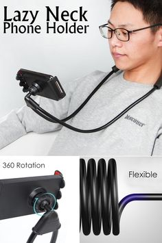 Flexible and adjustable - universal mobile phone holder, easy to adjust to any shape to fit your different needs. Suitable for any phone or device from 4 to inches. Cell Phone Deals, Free Cell Phone, Cell Phone Service, Best Cell Phone, Cell Phone Holder, Mobile Gadgets, Phone Gadgets, Mobile Accessories, Cell Phone Accessories