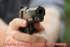 Advanced Firearm Carrier's Trauma Kit Training