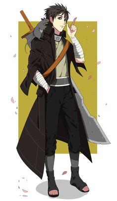 Comm Narutojunishi by Na-Nedam on DeviantArt Anime Naruto, Anime Ninja, Anime Oc, Naruto Art, Naruto And Sasuke, Naruto Uzumaki, Boruto, Fantasy Character Design, Character Concept