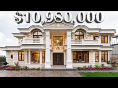 Settings - YouTube Classic House Design, Dream Home Design, Modern House Facades, Simple House Plans, Home By, Million Dollar Homes, Craftsman Style House Plans, Vancouver, Facade House