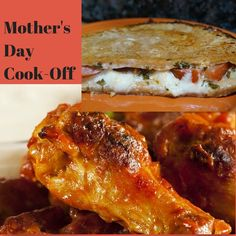 Celebrate Mother's Day with a Cook-Off: Wings vs Grilled Cheese choose your battle