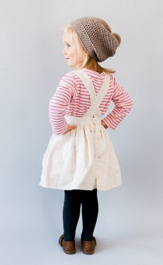 Handmade Pinafore Dress | blytheandreese on Etsy