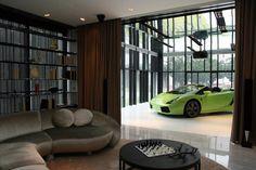 Zet de auto maar in de woonkamer   Auto in je huis   Wonen voor Mannen