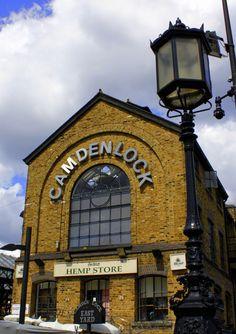 Camden Lock Market by the Regent's Canal