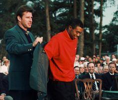Tiger's first major - Augusta 1997