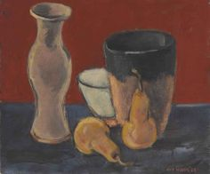 Max Weber (1881-1961)  Still Life  signed and dated 'Max Weber '28' (lower right)  oil on canvas  11¼ x 13¼ in. (28.6 x 33.7 cm.)