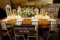 Chic country style tablescape  | photography by Style Art Life | see more on http://burnettsboards.com/2014/02/event-report-martha-stewarts-wedding-party/