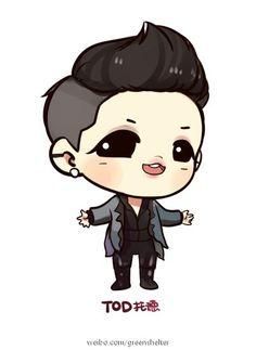Xia TOD Fan art
