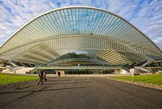 Liege-Guillemins Railway Station Liege (Belgium)