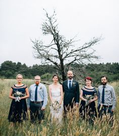 oregon wedding party | photo by Bethany Small