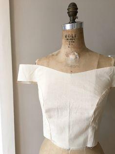 Pattern hacking Elisalex - the ultimate off the shoulder velvet prince – By Hand London