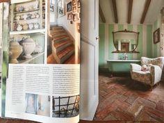 CASA ANTICA settembre ottobre 2017 #magazine #editorial #charme #bathroom #homedecor #interiordesign #architecture #cabiancadellabbadessa
