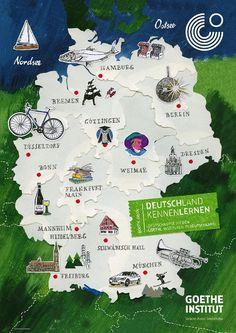 Hier spricht man Deutsch: Landeskunde im DaF Unterricht