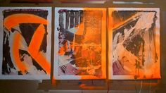 Triptic in progress oct./nov. 2014