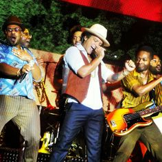 bruno mars and jamareo artis on stage - Google Search