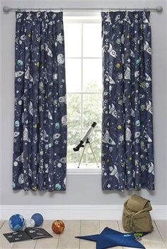 Buy John Lewis Glow In The Dark Star Pencil Pleat Blackout Lined Curtains Online At Johnlewis