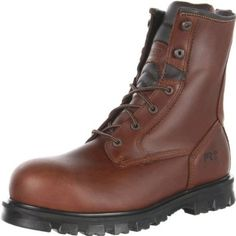 Timberland PRO Men's Boomtown ST Work Boot,Brown,8 M US Timberland. $100.00