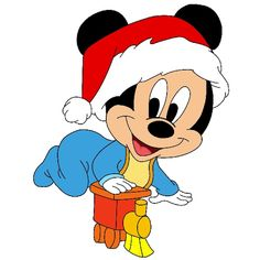 Disney Baby - Christmas Clip Art Images