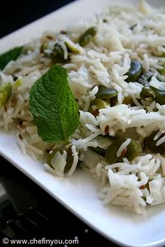 Green Garlic and Fava Beans Rice Recipe