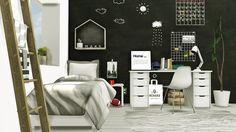 Lana CC Finds - Scandinavian-Style Boys Room