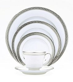 Noritake Crestwood Platinum China, this is what I have.