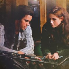 jake & bella...I have grown to love Jacob from watching New Moon over and over.