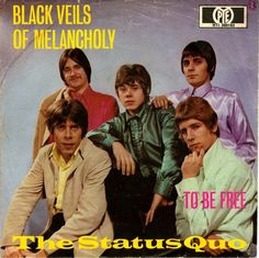 "7"" Status Quo – Black Veils Of Melancholy // Germany 1968"