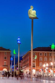 Masséna la nuit - Nice Côte D'azur