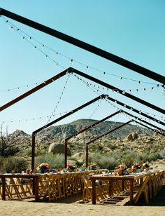 Retro Desert Wedding in Joshua Tree: Davis + Chris   Green Wedding Shoes   Weddings, Fashion, Lifestyle + Trave