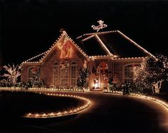 50 spectacular home christmas lights displays christmas lights outdoor christmas lights aloadofball Image collections