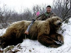 Easton Bowhunting - big ass Bear