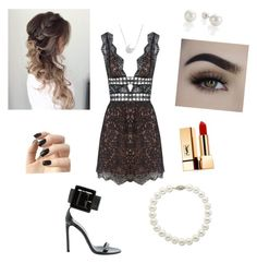 """Party"" by patty-15 on Polyvore featuring Mode, For Love & Lemons, Gucci, Chan Luu, Yves Saint Laurent, Incoco und Lord & Taylor"