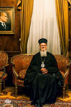 Patriarch Bartholomew by Dimitris Vlaikos