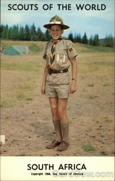 Scouts of the World: South Africa