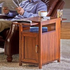 Recliner Side Table - $200