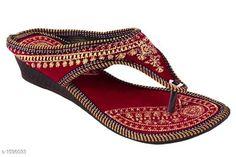Flats Ethnic Women's Footwear Material:  Velvet UK/IND Size: IND - 3 IND - 4 IND - 5 IND - 6 IND - 7 IND - 8 Description: It Has 1 Pair Of Women's Footwear Country of Origin: India Sizes Available: IND-8, IND-3, IND-4, IND-5, IND-6, IND-7   Catalog Rating: ★4 (1484)  Catalog Name: Femme Ethnic Women's Footwear Vol 3 CatalogID_207358 C75-SC1071 Code: 891-1596033-994