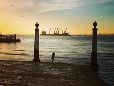 This gorgeous sunrise is only one of the amazing views I had while running in Lisboa (Lisbon), Portugal.  The winter weather is perfect for running.