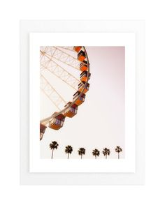 """California Dreams"" - Art Print by Alexandra Nazari in beautiful frame options and a variety of sizes."