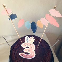 Idée de déco gâteau pour un anniversaire RouleTaBouille