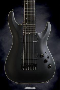 Schecter Blackjack C-8 SLS. Eight count them, EIGHT strings. Gretsch, Guitar Art, Cool Guitar, Schecter Guitars, Jackson, Beautiful Guitars, Instrumental, Musical Instruments, Drums